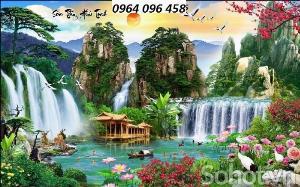 2021-10-23 09:56:32  9  Tranh phong cảnh đồng quê - tranh gạch 3d đồng quê 1,200,000
