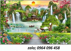 2021-10-23 09:56:32  8  Tranh phong cảnh đồng quê - tranh gạch 3d đồng quê 1,200,000