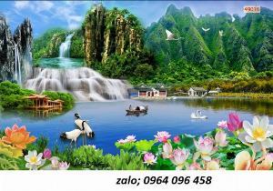 2021-10-23 09:56:32  2  Tranh phong cảnh đồng quê - tranh gạch 3d đồng quê 1,200,000