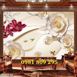2021-10-23 10:18:19  1  Tranh gạch men 3d hoa ngọc -GDG8 1,200,000