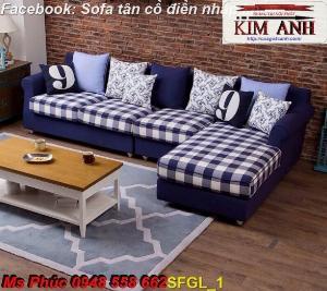 Sofa góc chữ L  cho phòng khách giá hấp dẫn