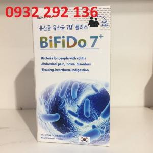 Men tiêu hóa BIFIDO 7 giúp bổ sung lợi khuẩn cho người dùng