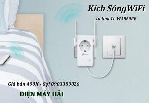 Thiết bị Kich sóng WIFI TP-Link TL-WA860RE, Đại giảm giá 10%