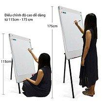Bảng Flipchart 3 chân rút A-Model kích thước 70x100cm