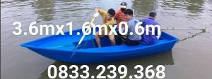 Thuyền composite 4-6 người du lịch hồ, chụp ảnh hồ, đi câu  dã ngoại