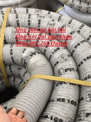 Ống ruột gà , ống gân nhựa PVC , ống hút bụi gân nhựa phi 100, cuộn dài 30m , Bán sỉ, lẻ giao hàng toàn quốc
