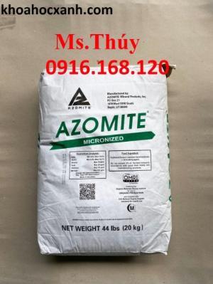 Khoáng Azomite của Mỹ bổ sung 67 khoáng trộn và tạt trong thủy sản