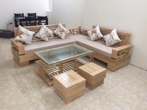 Sofa gỗ sồi giá rẻ nhất thị trường Gò Vấp, Đồng Nai, Bình Dương - Khuyến mãi cực sốc