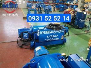 Palang dầm đơn 10 tấn 12 mét hyundai