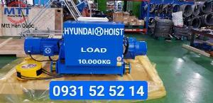 Palang hyundai 10 tấn dầm đôi 12 mét