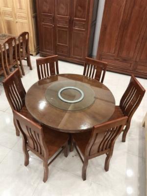 Bộ bàn ghế ăn gỗ cao cấp, hiện đại, giá tại xưởng Dầu Tiếng, Bến Cát | Nhiều khuyến mãi SỐC