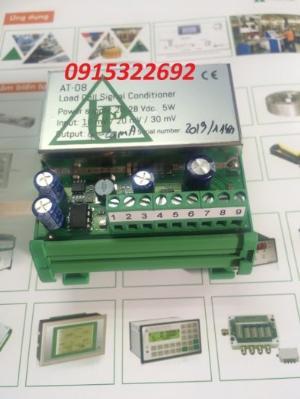 AT-08 bộ chuyển đổi tín hiệu loadcell ra Analog (0-10V & 4-20mA), Hãng sản xuất  Pavone - Italy