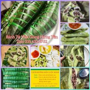 Bánh tẻ Văn Giang- Hưng Yên/10 bánh ( chưa luộc chín)