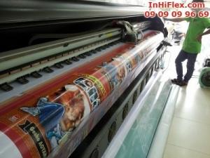 In hiflex khổ lớn quảng cáo truyện sắp phát hành