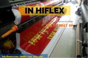 In hiflex khổ lớn làm phông nền cho tiệc cuối năm