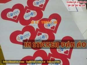 Sticker dán áo