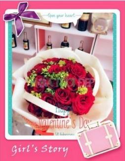 Hoa tươi tình yêu - Hoa Tình Yêu TY099