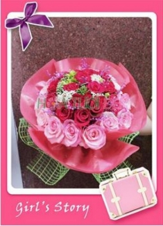 Hoa tươi tình yêu - Hoa Tình Yêu TY100