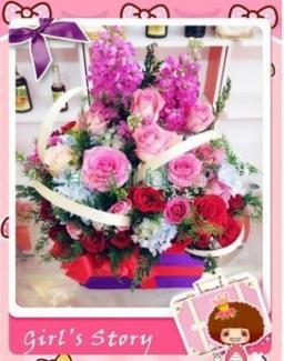 Hoa tươi tình yêu - Hoa Tình Yêu TY098