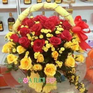 Hoa tươi tình yêu - Hoa Chúc Mừng CM118