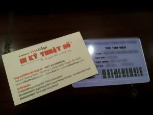 Thẻ sinh viên tích hợp thẻ thư viện tiện lợi