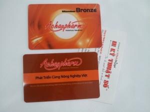 Thẻ nhựa ứng dụng cho chăm sóc khách hàng và quảng bá thương hiệu