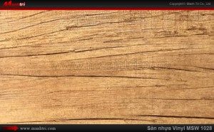 Sàn nhựa giả gỗ Vinyl MSW 1028