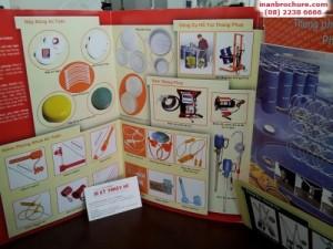 In brochure giới thiệu các món ăn cho nhà hàng