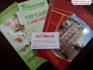 Nhận in ấn và Thiết kế in brochure trọn gói tại TPHCM