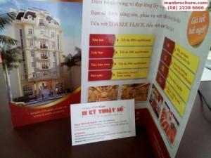 In brochure cho giới thiệu sản phẩm mới