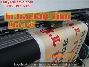 Dịch vụ in backlit film giá rẻ