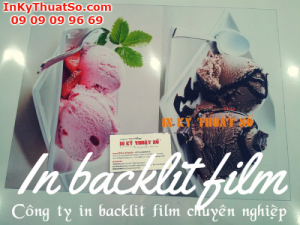 Dịch vụ in ấn backlit film chuyên nghiệp