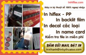 In phun khổ lớn hiflex cho thực hiện phông nền kích thước lớn tại Tp.HCM