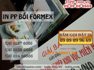 Công ty In Kỹ Thuật Số - Digital Printing cung cấp dịch vụ in PP bồi formex chất lượng cao