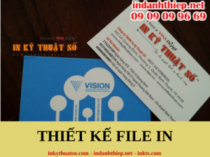 Thiết kế file in danh thiếp đẹp