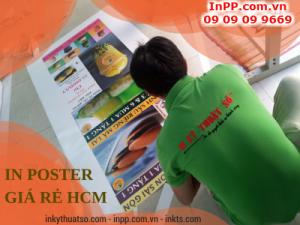 In poster giá rẻ hcm cho tiệm bánh