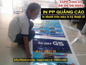 In PP quảng cáo sản phẩm các loại