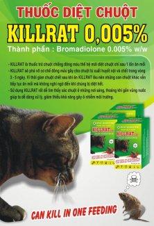 Thuốc diệt chuột KILLRAT 100gr
