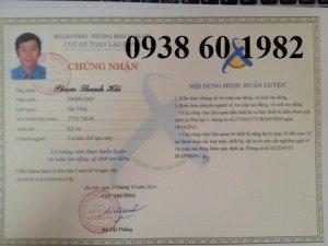 Học nghiệp vụ AN TOÀN LAO ĐỘNG Tại TP.HCM
