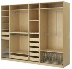 Nhận đóng tủ quần áo, tủ âm tường theo yêu cầu tại Tp HCM