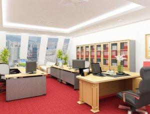 Đóng tủ hồ sơ văn phòng bằng MFC