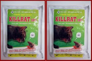 Thuốc diệt chuột  Killrat 1kg