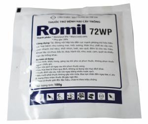 Thuốc trừ bệnh Romil  72WP 1kg