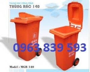Bán thùng rác công nghiệp, thùng rác nhựa mới, thùng rác composite giá cạnh tranh.