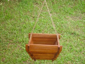 Chậu gỗ treo BAS002 HANGING BASKET