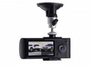 Camera hành trình ô tô DVR X3000 tích hợp 2 camera