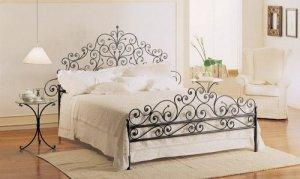Giường sắt rèn nghệ thuật