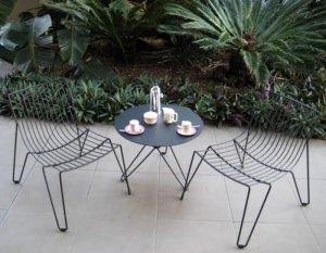 Ghế cafe sắt rèn nghệ thuật