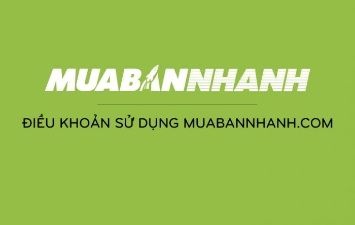 Điều khoản sử dụng MuaBanNhanh.com