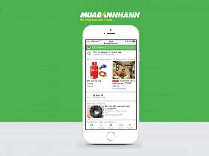 [ Báo Tiền Phong ] Muabannhanh.Com Đi Đầu Xu Hướng Thương Mại Di Động (M-Commerce)